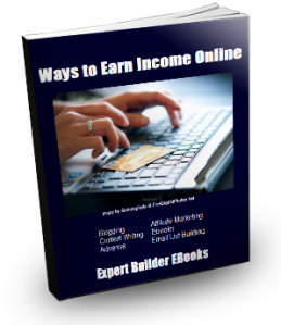 Ways to Earn Online EBook COVER